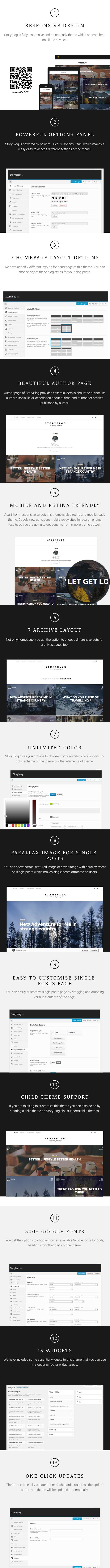 StoryBlog - WordPress Theme for Story Tellers - 2