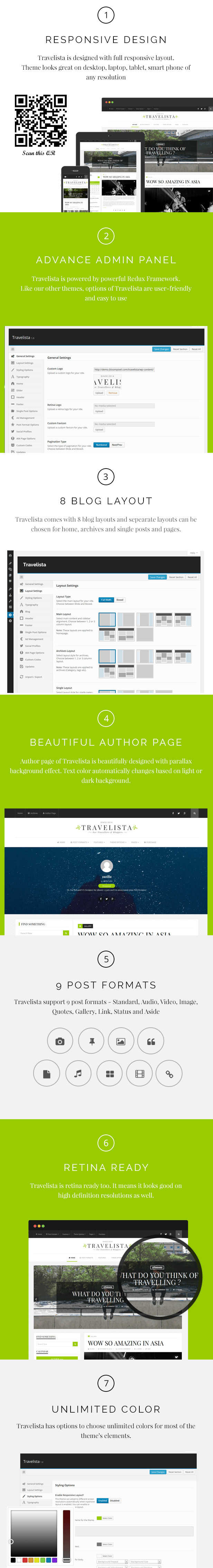 Travelista - WordPress Blog Theme